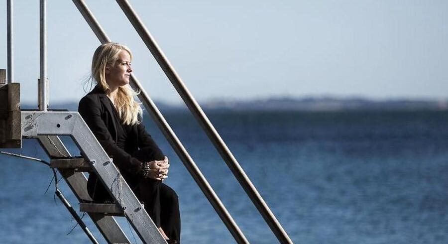 Et billede af Pernille Vermund fra 2015, da hun annoncerede, at hun havde tænkt sig at forlade Det Konservative Folkeparti, fordi hun var uenig i partiets politiske kurs.