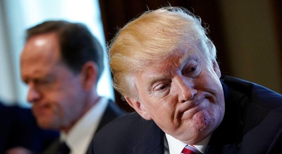 USAs præsident, Donald Trump