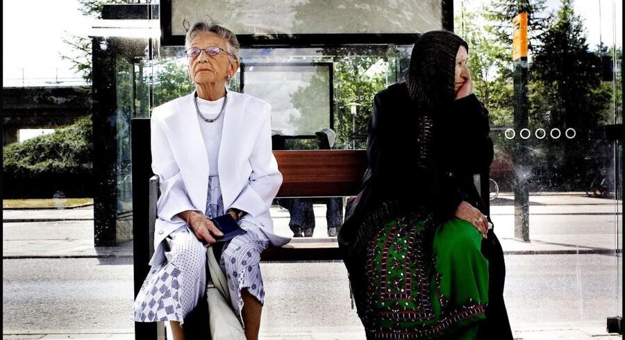 Arkivfoto: Ny rapport viser, at flere indvandrere lever i fattigdom, når de bliver pensionister.