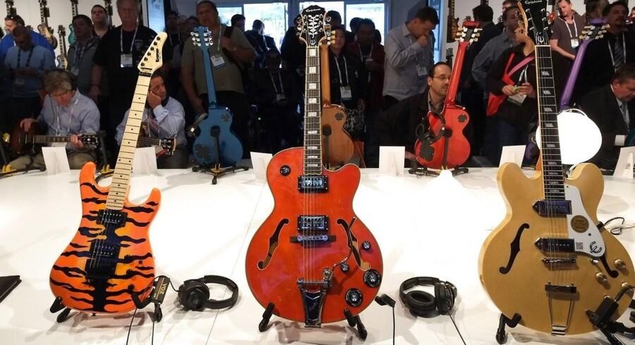 Guitar-ikonet Gibson har standset betalingerne