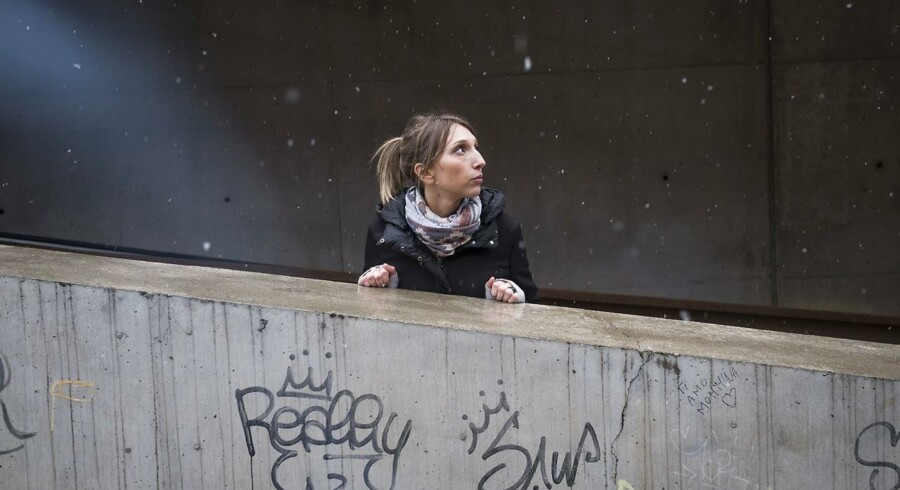 Carlotta Trevisan har været med i Movimento 5 Stelle siden starten i 2009. Som 32-årig alenemor tilhører hun samtidig den fortabte generation af italienere, der hører til protestbevægelsens kernevælgere. Foto: Mads Joakim Rimer Rasmussen.