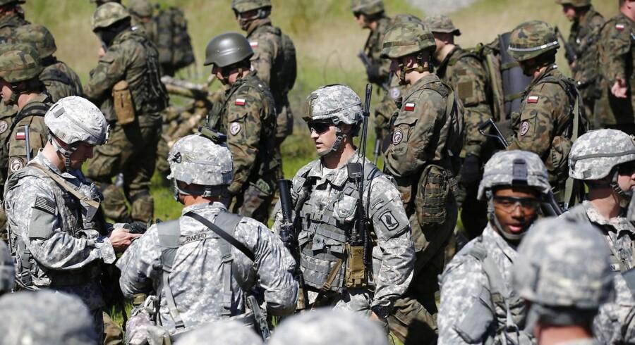 Amerikanske soldater.