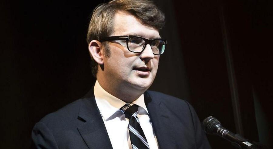 Erhvervs- og vækstminister Troels Lund Poulsen