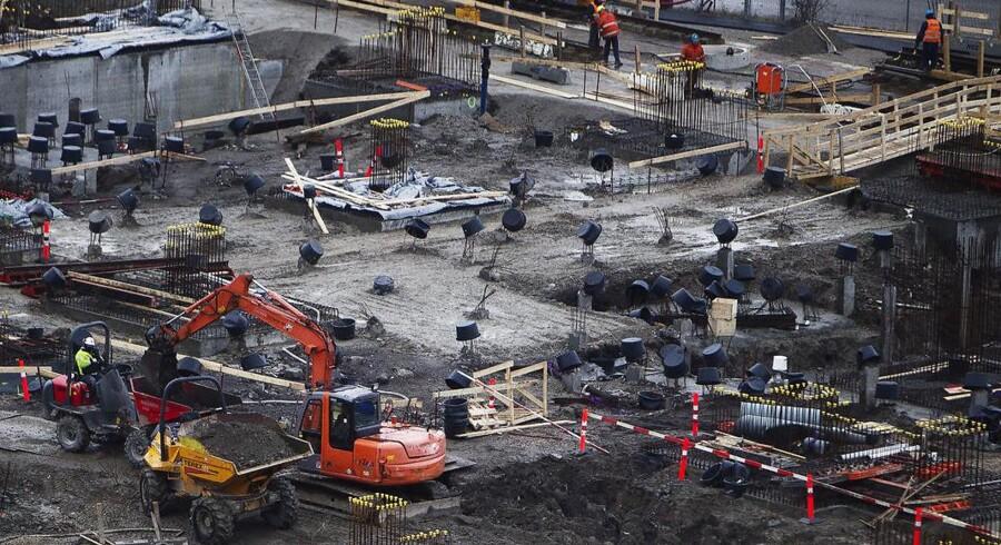 ARKIVFOTO: En byggeplads, der ikke har nogen forbindelse til artiklens indhold.