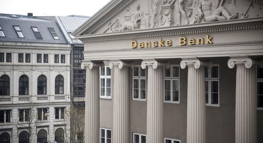 Genrebillede af Danske Bank på Kongens Nytorv.