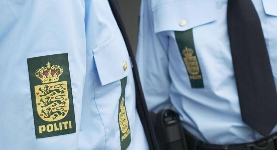 Politifolk i blandt andet Odense efterforsker en stribe forbrydelser, som Black Army-medlemmer beskyldes for at stå bag (arkivfoto). Free/Politiet