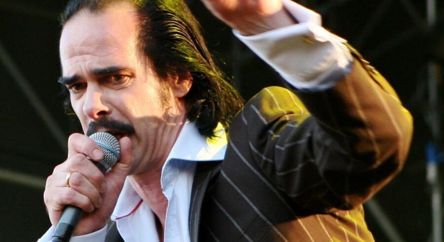 Den australske musiker og rockveteran Nick Cave lægger turen forbi København til efteråret.