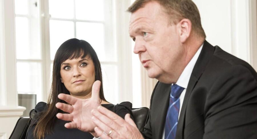 Statsminister Lars Løkke Rasmussen vil forny den offentlige sektor. Innovationsminister Sophie Løhde får central rolle.