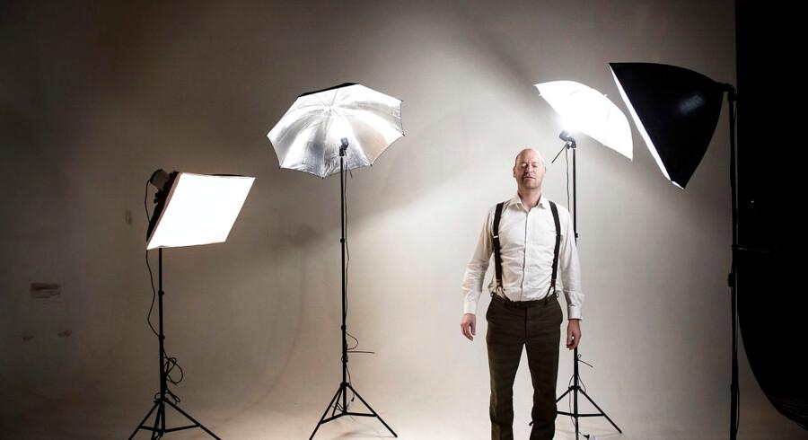 """Filosoffen Anders Fogh Jensen debuterer som dramatiker med stykket """"De danser alene"""". Fotograferet på Rialto Teateret, København."""