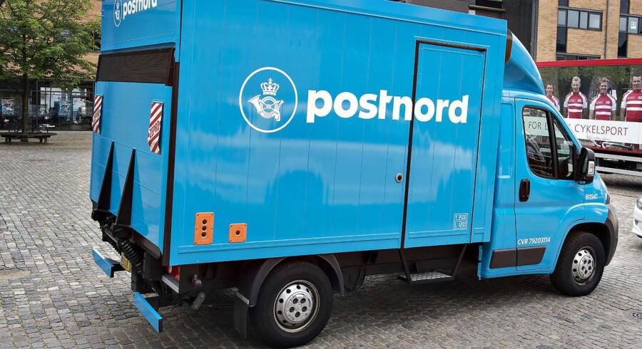 Flere millioner breve, som PostNord i Sverige håndterede i 2016, kan være forsvundet. Foto: Henning Bagger/Scanpix 2017.