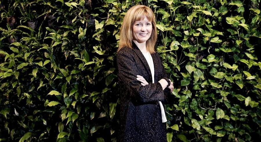 IT-giganten Dell skal nu for alvor vokse og være væg-til-væg-leverandør til virksomhederne oven på det hidtil største opkøb i teknologiverdenen, forklarer Dells koncerndirektør for markedsføring, Karen Quintos. Foto: Linda Kastrup