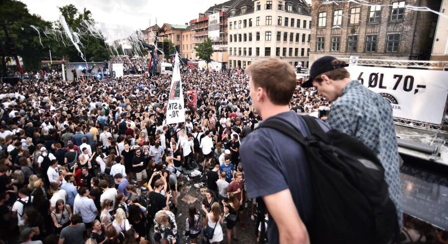 Onsdag den 1. juni indtog Distortion gaderne på Nørrebro. Tusindvis af københavnere i festhumør dansede og nød sommervejret. AOK's fotograf var på pletten. Foto: Jeffrey Hunter, www.jeffreyhunter.dk,  @_jeffreyhunter