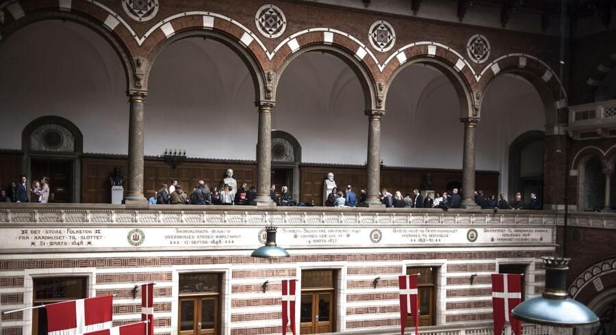 ARKIVFOTO fra Københavns rådhus.