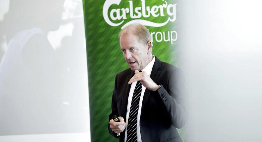 Carlsbergs topchef Jørgen Buhl Rasmussen