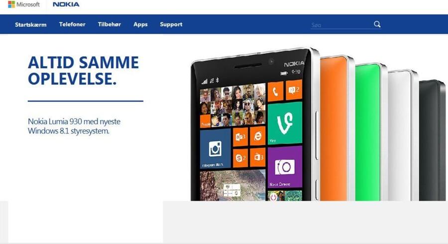 Altid samme oplevelse er det måske, men navnet bliver på et tidspunkt nyt, når Microsoft udrangerer Nokia-navnet på sine Lumia-telefoner.