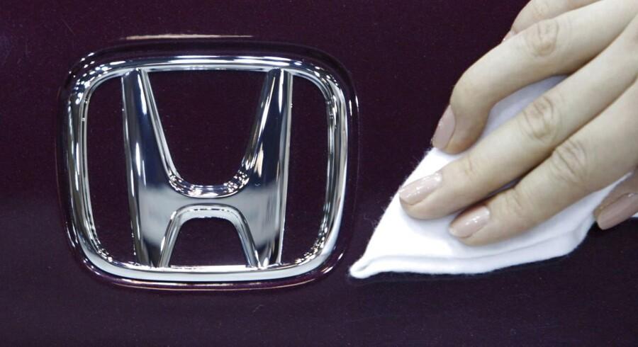 Den japanske bilproducent Honda.