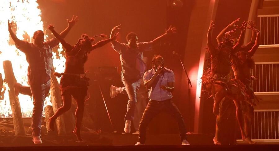 Kendrick Lamar stjal showet.