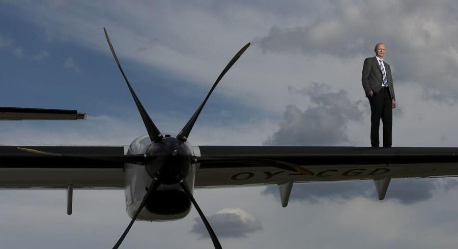 Grundlæggeren Martin Møller for Nordic Aviation Capital har verdens største flåde af mindre regionalfly
