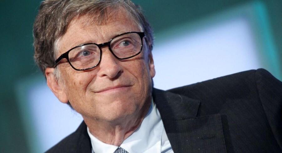 Microsoft-medstifter Bill Gates er tilbage som verdens rigeste. Foto: Mehdi Taamallah, Reuters/Scanpix