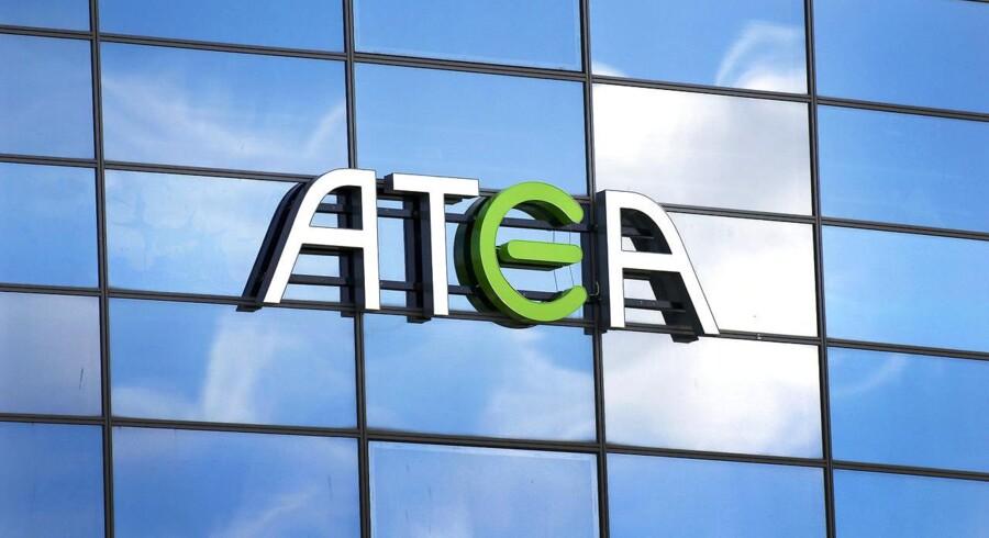 I alt er syv personer samt selskabet Atea tiltalt for at yde eller modtage bestikkelse. Alle personer nægter sig skyldige. (Foto: Martin Rasmussen/Scanpix 2016)
