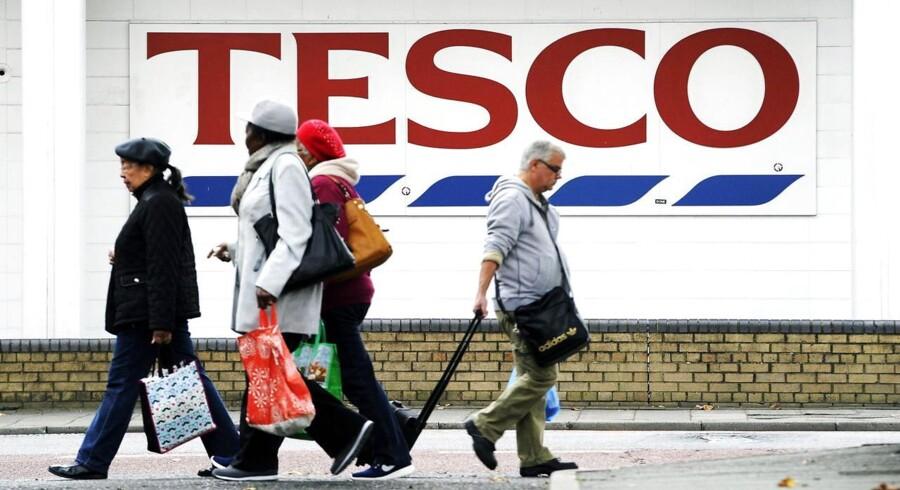 Den britiske supermarkedskæde Tesco er i store vanskeligheder