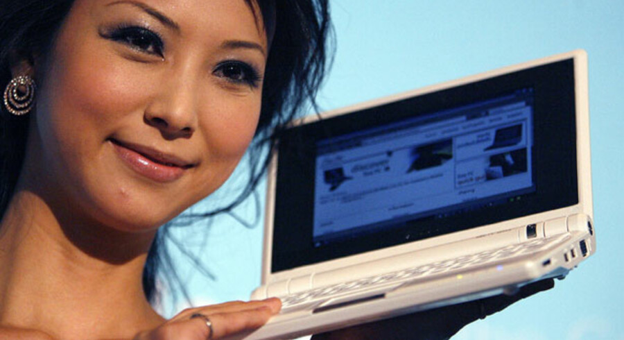 Asus' minicomputer Eee er sammen med andre lignende PCere blevet et hit.