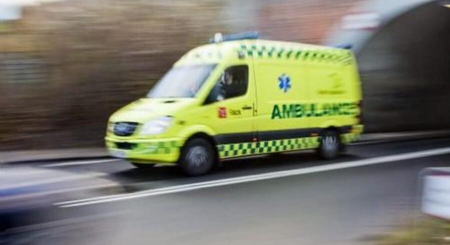 Ambulanceselskabet Bios kræver 90 millioner kroner af Falck. Free/Colourbox