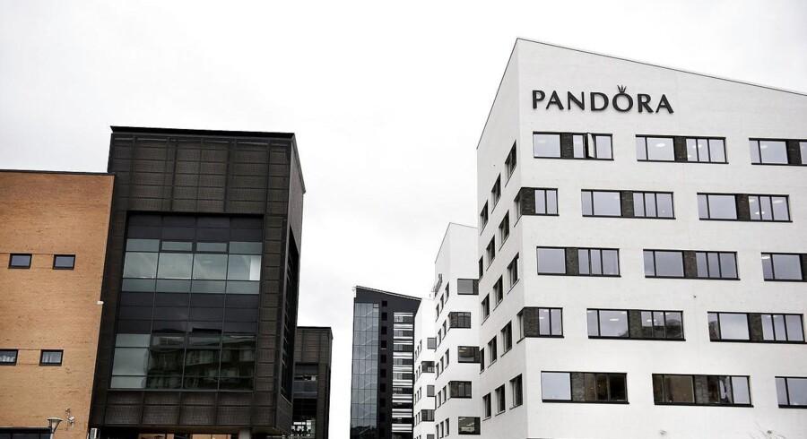 Aktier: Pandora lægger sig i spidsen af fladt C25 (Foto: Liselotte Sabroe/Scanpix 2017)