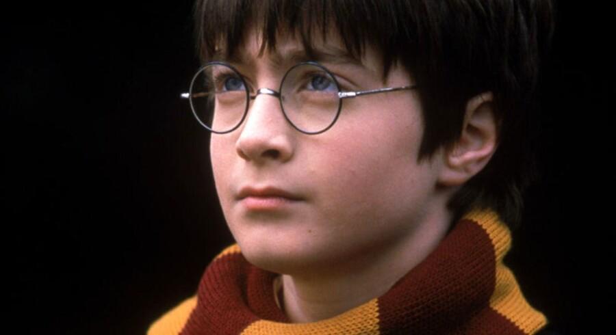 Harry Potter går på scenen.