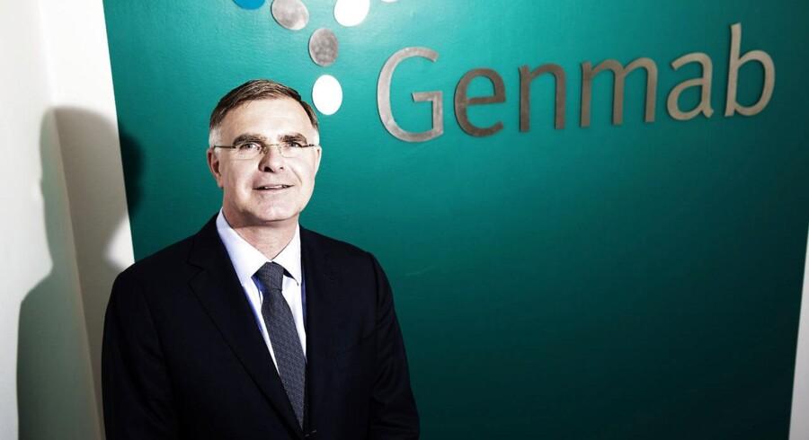 Genmabs topchef Jan van de Winkel kan glæde sig over 3 mio. dollar i kassen efter at have nået en milepæl.