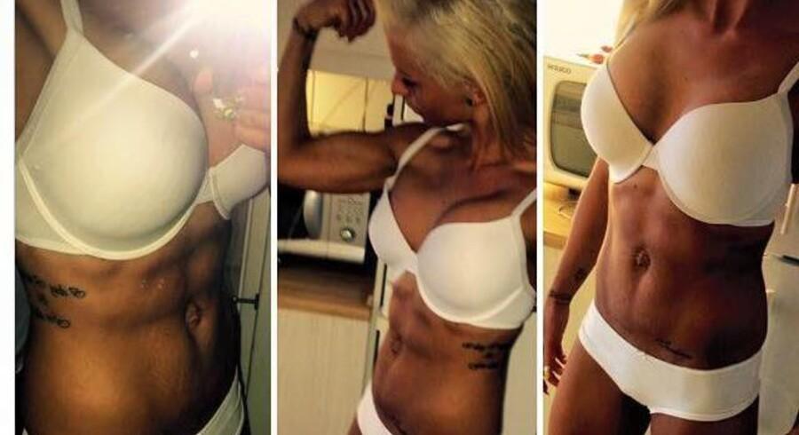 Mia Nylander er en del af et fænomen, som vinder frem i Danmark. Nemlig bikini fitness.