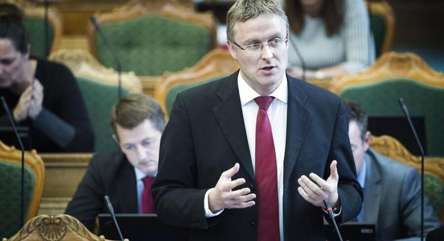 Venstres finansordfører, Jacob Jensen (Foto: Jens Nørgaard Larsen/Scanpix 2015)