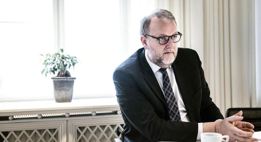 Klima- og energiminister Lars Chr. Lilleholt (V). ARKIVFOTO.