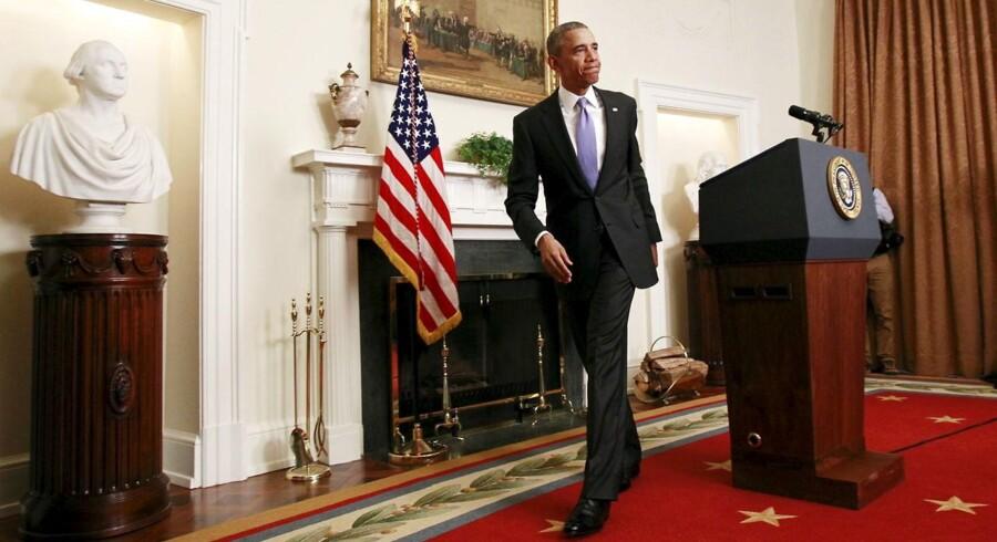 Barack Obama mener, at aftalen med Iran har forhindret en ny krig.