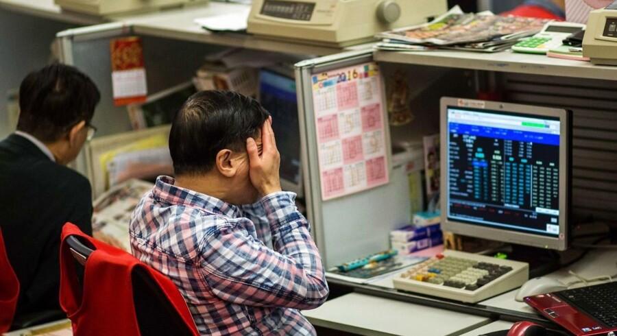 Der er igen kursfald på de asiatiske børser torsdag morgen, hvor der ikke er handel i Tokyo på grund af en national japansk helligdag.