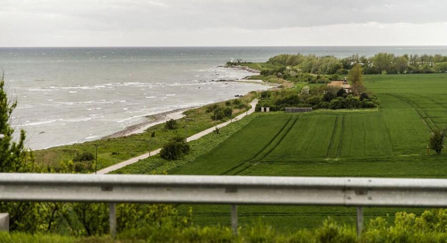 IK dette område skal tre danske virksomheder være med til at bygge den nye forbindelse til Tyskland. ARKIVFOTO