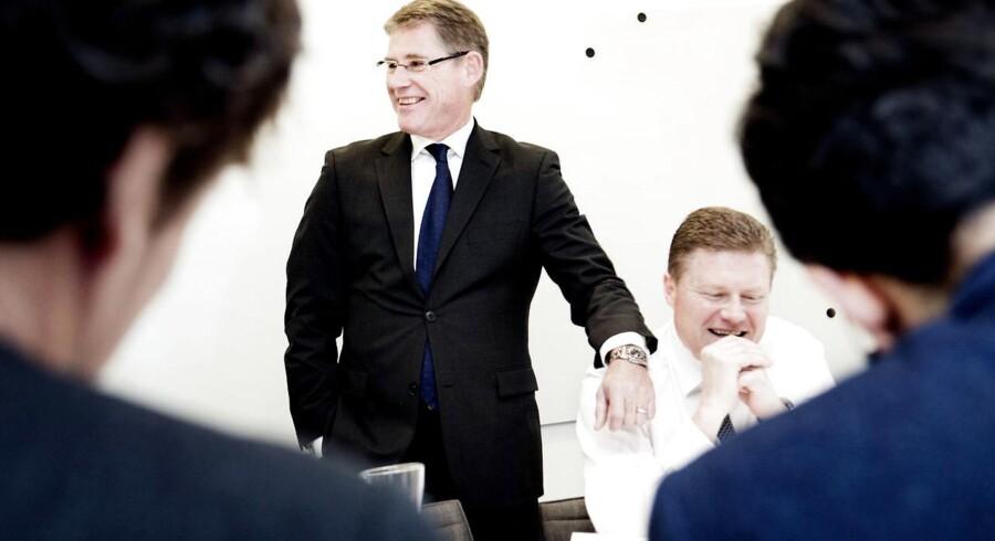 Blandt de ti bedst placerede i Berlingske Business Magasins Imageanalyse finder vi i alle årene Novo Nordisk enten som nummer et eller nummer to. Her topchef Lars Rebien Sørensen (stående).