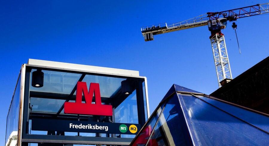 Frederiksberg Metrostation.