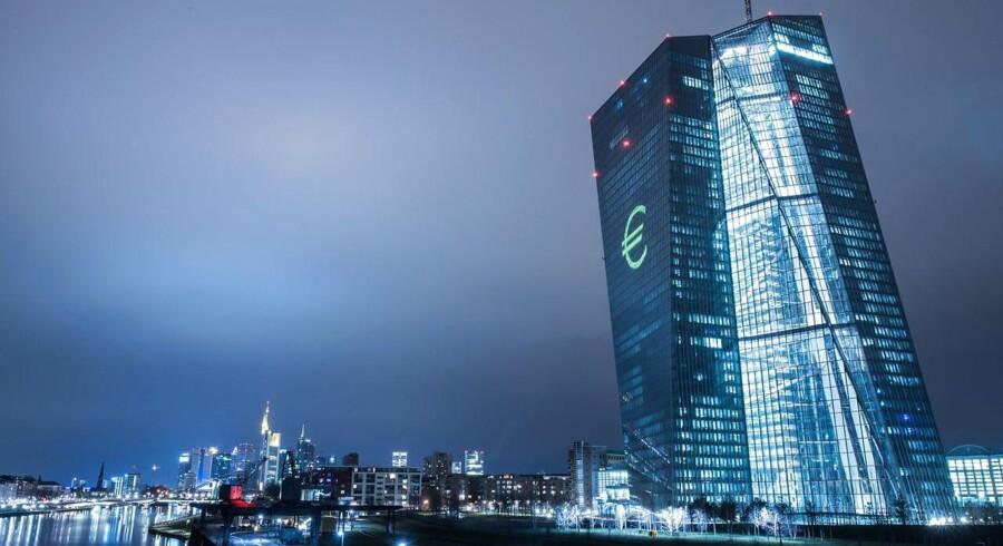 Den Europæiske Centralbank, ECB, har såvel som mange andre centralbanker stilet efter en inflationsrate på 2 pct.