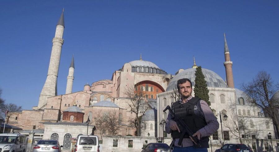 Istanbul tirsdag efter eksplosionen.