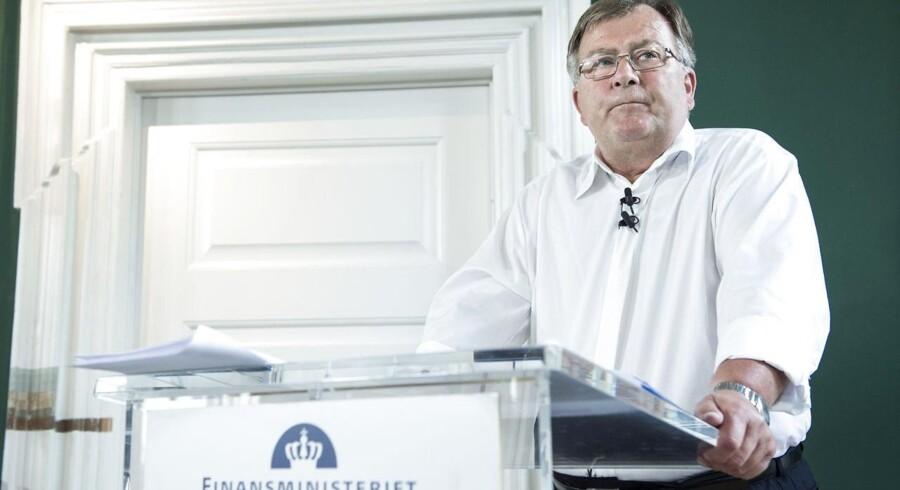 Claus Hjort Frederiksen fremlægger Økonomisk Redegørelse og regeringens kasseeftersyn.