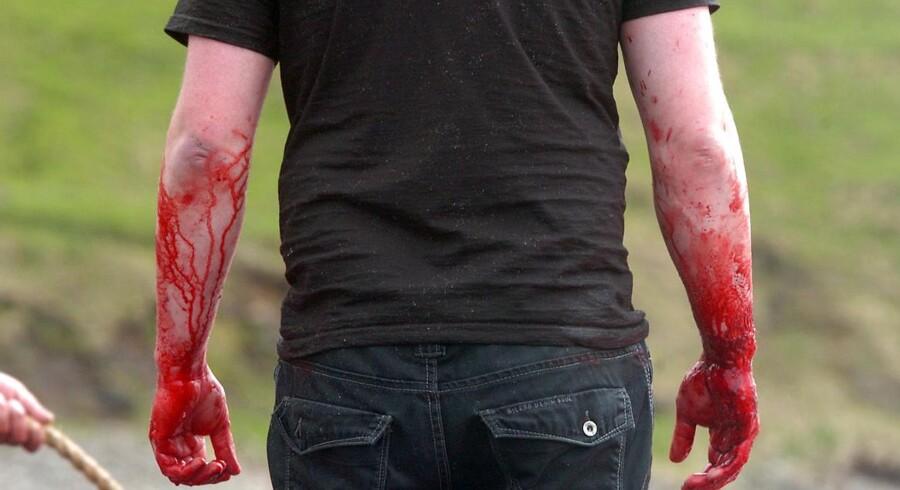 Man får blod på hænderne, når man selv slagter sit kød.