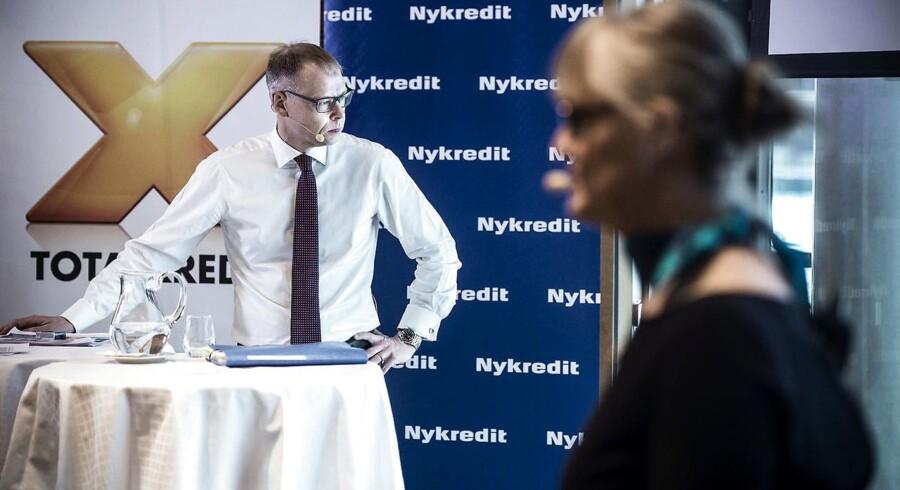 Nykredit præsenterede torsdag planer for børsnotering. Det var Michael Rasmussen koncernchef og formand for foreningen Nykredit Nina Smith, der stor for det meste af præsentationen.