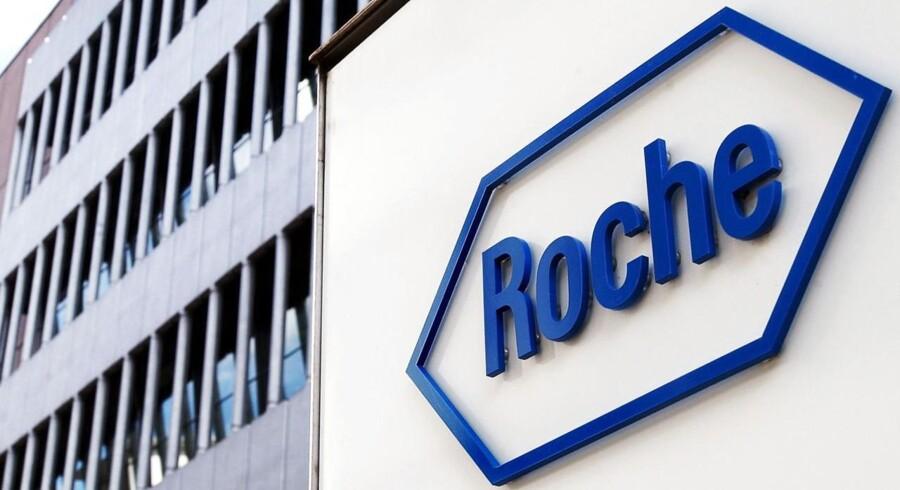 Det schweiziske medicinalselskab Roche klarede sig end smule bedre end ventet i første kvartal af 2016.