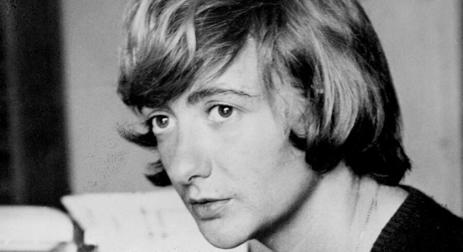 Françoise Sagan. Udateret foto fra 1960erne.