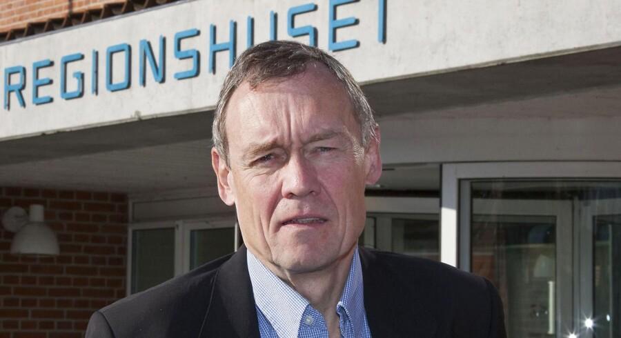Adm. direktør Jens Andersen, Region Sjælland, er blevt fritstillet 9. marts 2016 på grund af rod med IT-køb.
