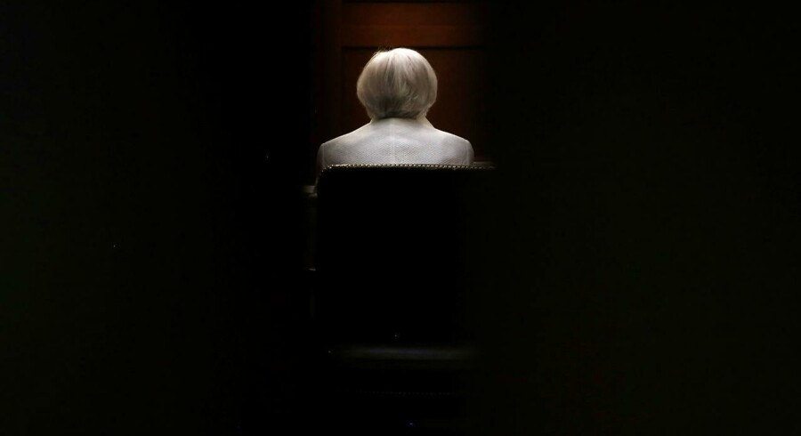 Formand for den amerikanske centralbank, Federal Reserve, Janet Yellen.