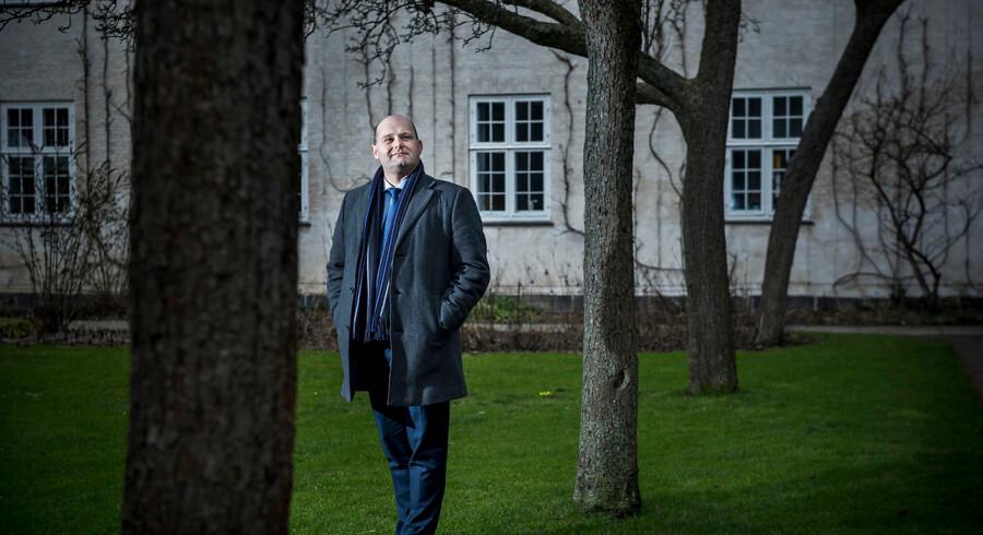 Søren Pape, formand for det Konservative Folkeparti. Partiet har 100 års jubilæum i 2016.