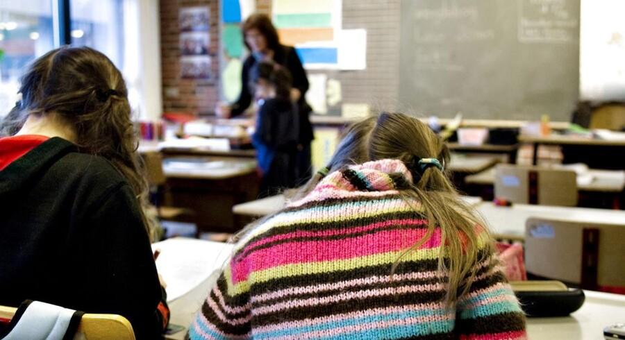 Arkivfoto: Undervisning i Folkeskolen (Foto: Steffen Ortmann/Scanpix 2014)