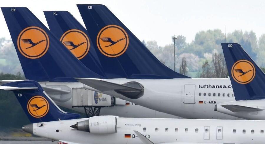 Arkivfoto. 100.000 passagerer ventes at blive påvirket af strejke onsdag. Piloterne vil nu fortsætte strejken torsdag.